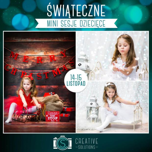świąteczne mini sesje dziecięce opole