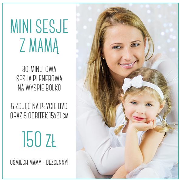 mini sesje zdjęciowe na dzień matki opole
